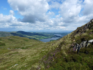 Ullswater from descent of The Knight