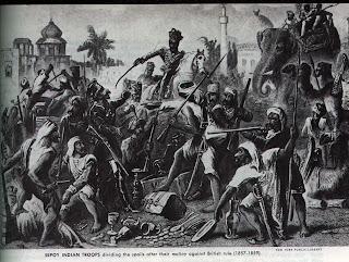 essay on the sepoy mutiny of 1857