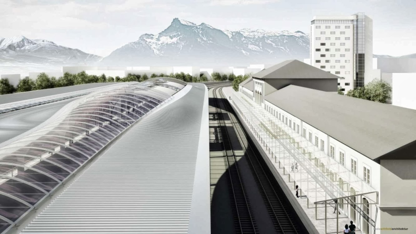 Central Station Salzburg by Kadawittfeldarchitektur