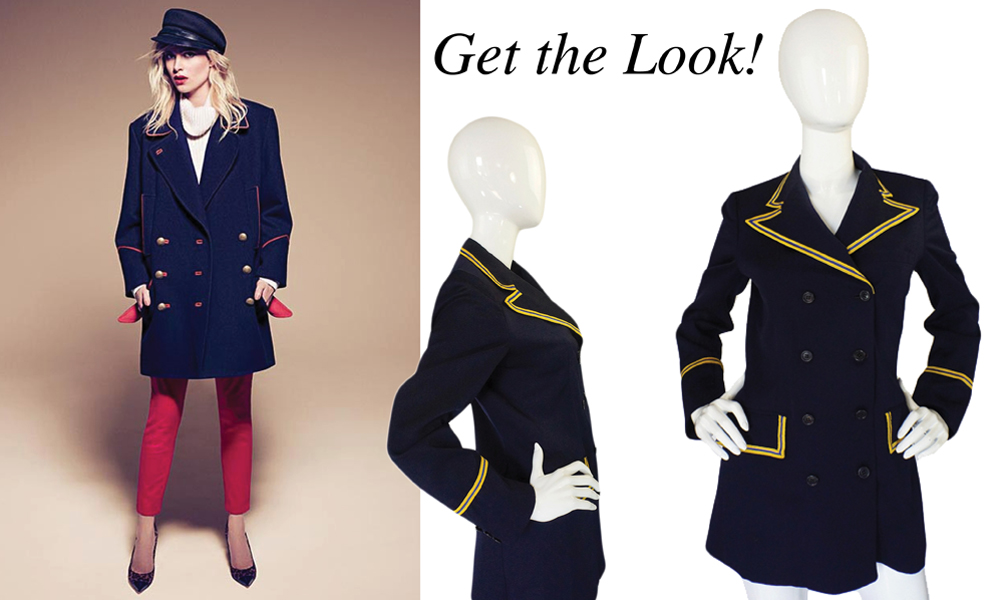 Get the Look [The Military Inspired Blazer]