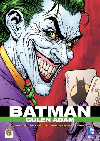Daily Comics Çeviri tarzıyla batman: gülen adam