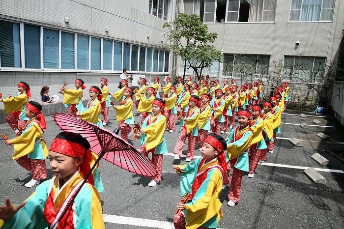第61回よさこい祭り☆本祭2日目・川村病院4☆上2目0659