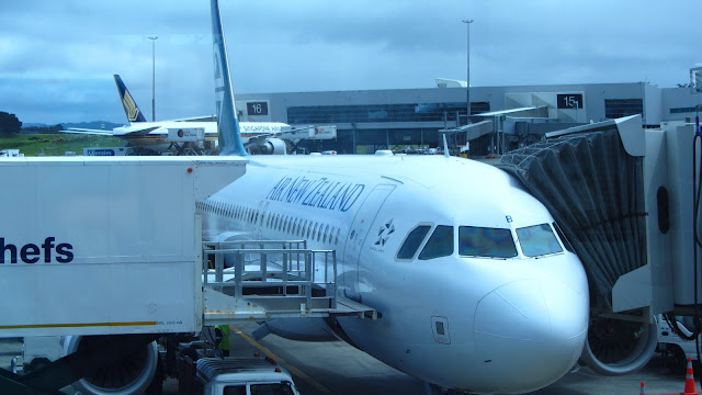 Safe and sound at Auckland Interntional Airport.