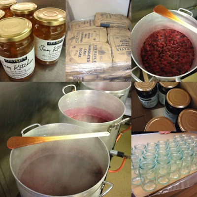 Jam Kitchen at Craigie's Farm, Deli and Cafe. South Queensferry, Edinburgh