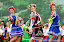 Kiev, Vyshgorod-Ukraine-July 30, 2011-The race of the UIM F1 H2O Grand Prix of Ukraine in Kiev region. Final results are: Hamed Al Hameli Abu Dhabi Team, Jay Price of Qatar Team and  Sami Selio of Mad Croc F1 Team . Picture by Vittorio Ubertone/Idea Marketing