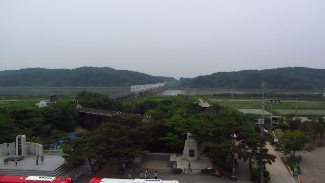 Freedom Bridge as seen from Imjingak.