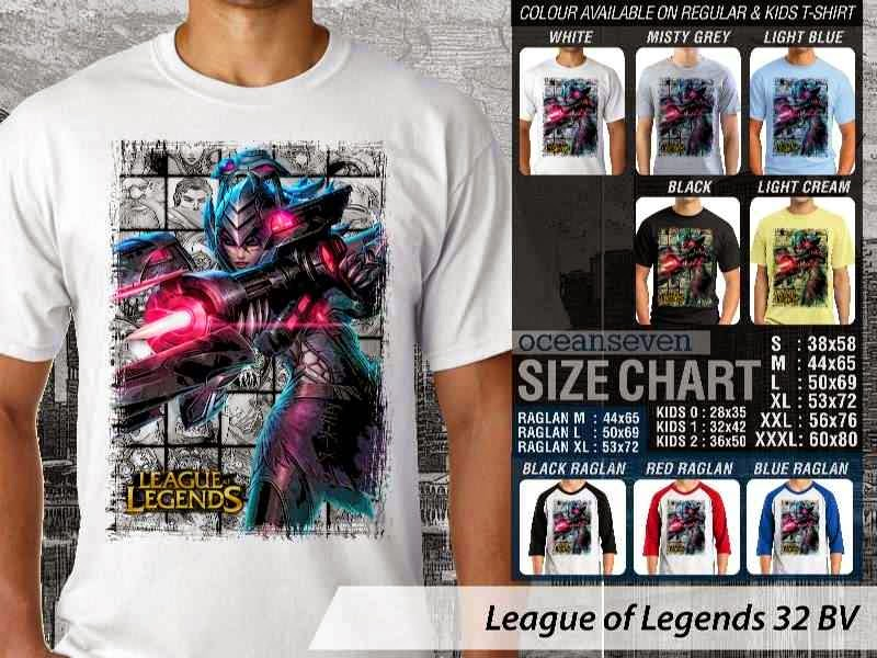 Kaos Game Online League of Legends 32 distro ocean seven