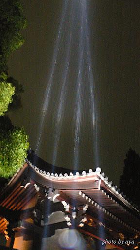 青蓮院門跡のライトアップ5