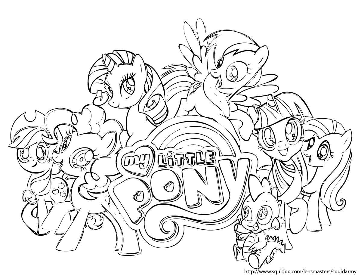 my little pony online coloring pages - Coloring My Little Pony games online