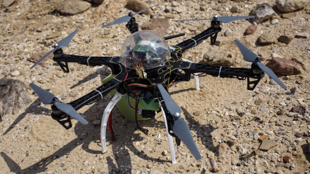 Drone offers glimpse of looting at Jordanian site