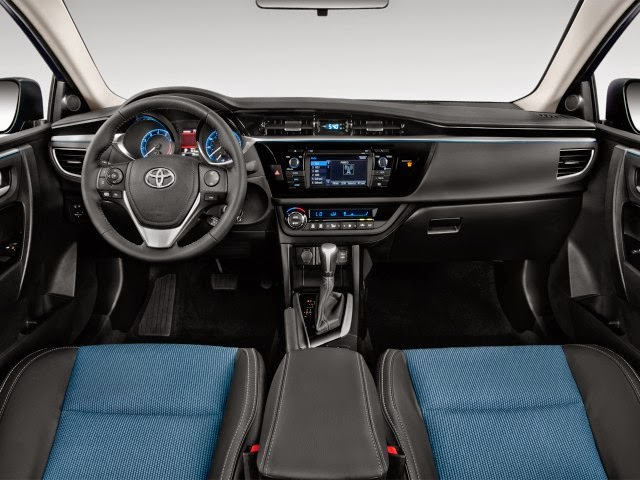Captivating 2014 Toyota Corolla Interior