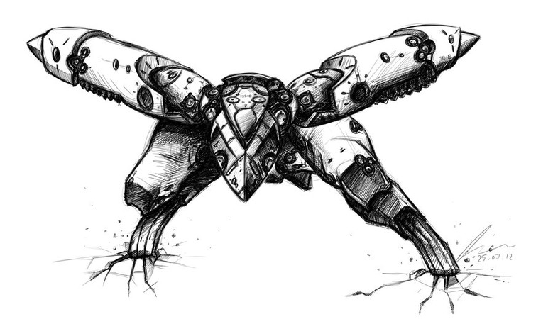 [Image: metal_gear_ray_v2___black_and_white_by_s...58o60m.jpg]