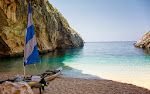 An unspoilt beach in the Karaburun. The only way to get there is by a boat.