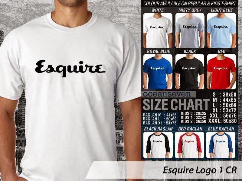 Kaos Magz Esquire Logo 1 Majalah & Media distro ocean seven