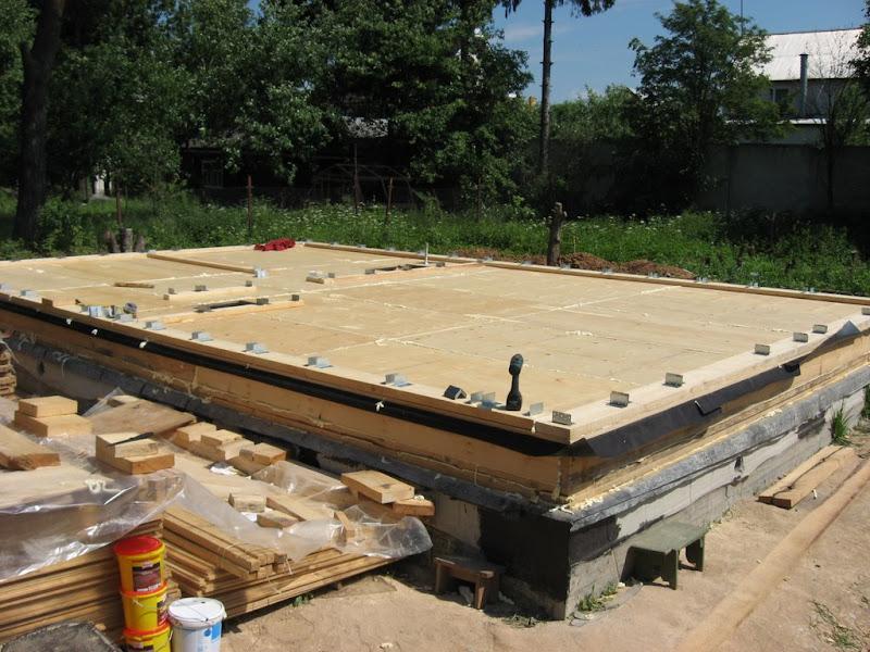 Строим дом из бруса своими руками от фундамента до крыши фото 23