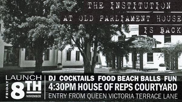 old parliament house drinks