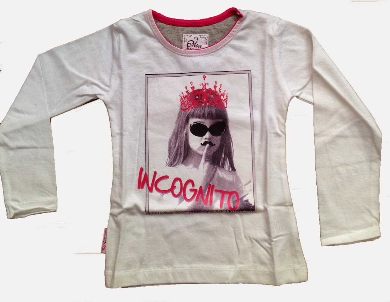 Miss-Girly-T-shirt-manches-longues-Fille-38-FONITO