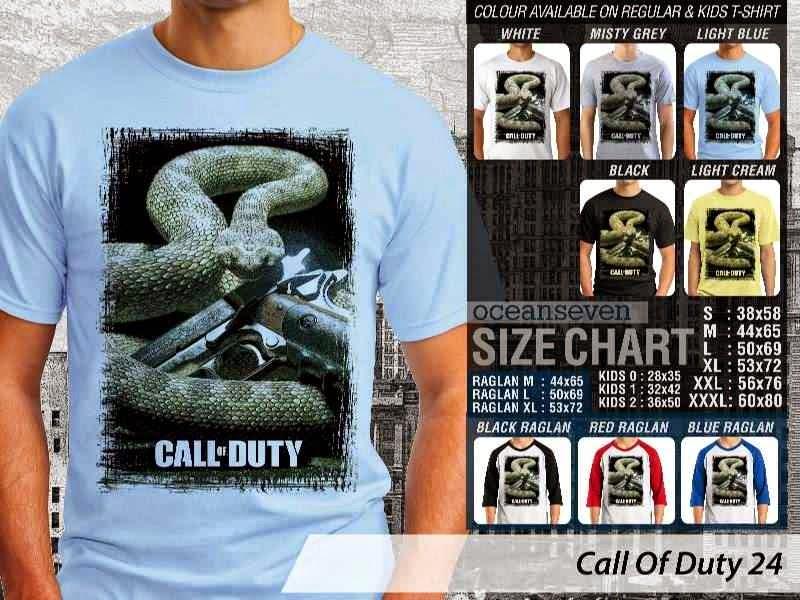 KAOS cod Call Of Duty 24 Game Series distro ocean seven