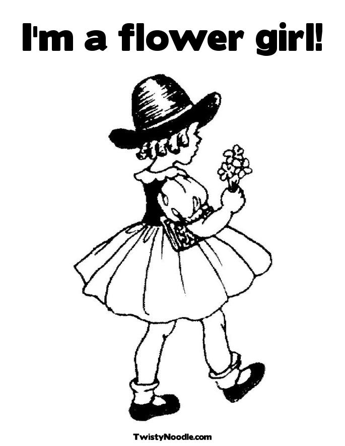 Girl Scout Daisy Flower Petal Coloring Pages - flower coloring pages for girls