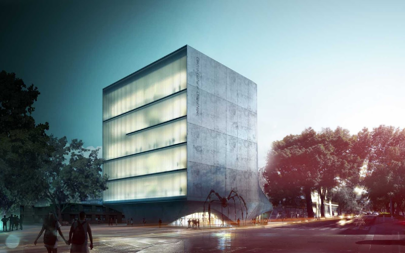 02 Cultural Center of Chapultepec Competition Entry
