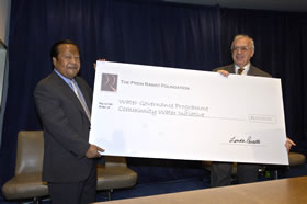 Prem Rawat Maharaji en United Nations Development Programme (UNDP) HQ, New York