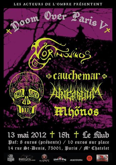 Doom Over Paris V @ Le Klub, Paris 13/05/2012