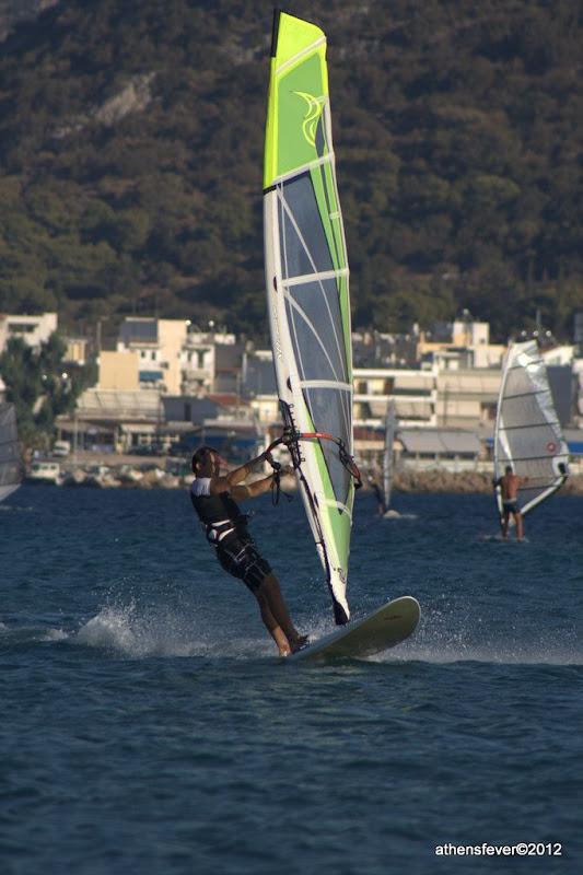 Windsurfing at Anavisos