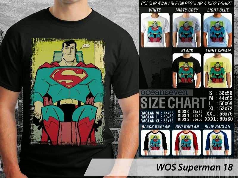 KAOS superman 18 Movie Series distro ocean seven