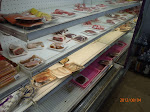 Very attractive (NOT!) meat section of the local supermarket...