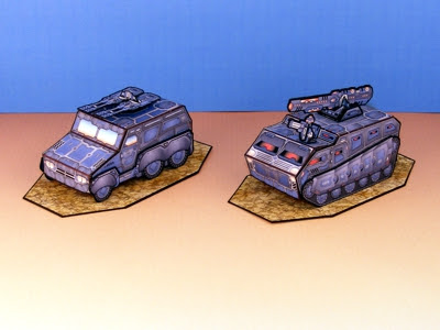 Armor Grid: Motor Pool-Medium Vehicles