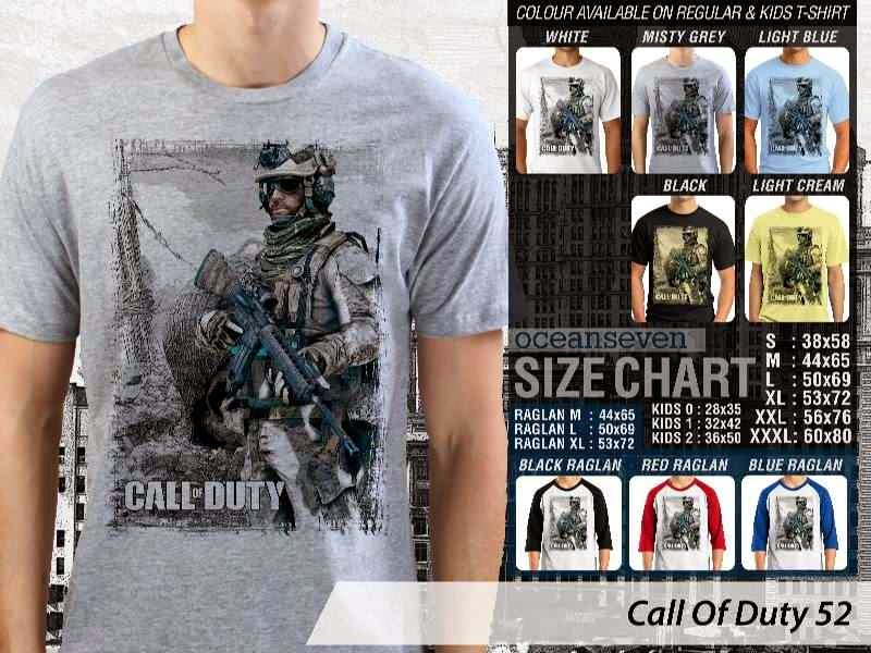 KAOS cod Call Of Duty 52 Game Series distro ocean seven