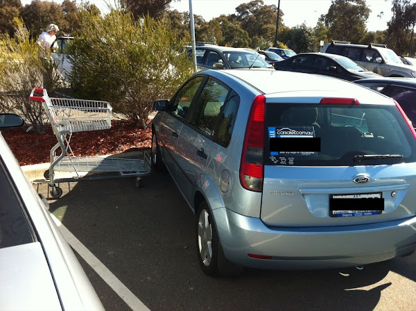 bunnings parking