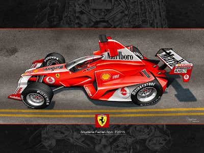 Ferrari F2015 by dangeruss