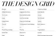 The Design Grid