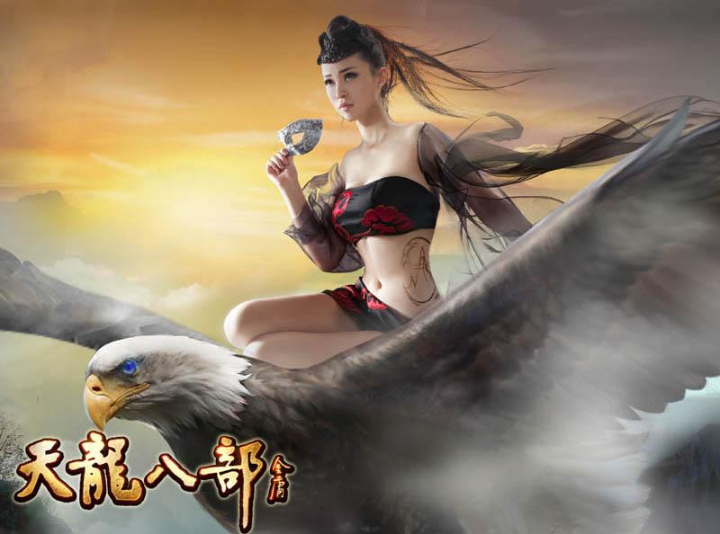 Nữ hiệp Thiên Long Bát Bộ khoe hình xăm tuyệt đẹp - Ảnh 9