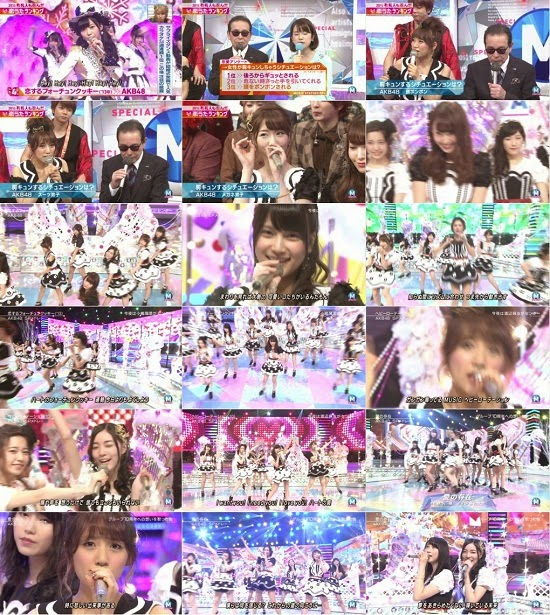 (TV-Music)(1080i) AKB48 part – Music Station SP 150116