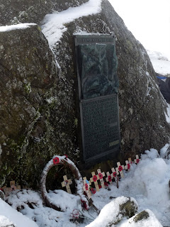 Great Gable summit memorial