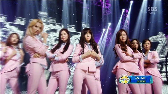 [TV-Music](1080i) Girls' Generation 少女時代 – Mr.Mr. (Inkigayo) (Download)[2014.03.16]