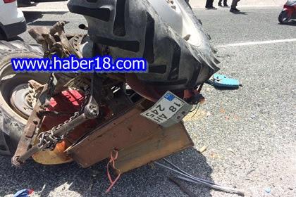 Çankırı Ilgaz Karayolunda Meydana Gelen Trafik  Kazası