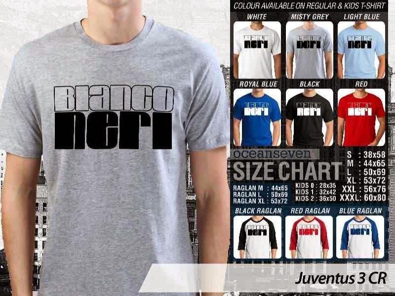 Kaos Bola Juventus 3 Lega Calcio distro