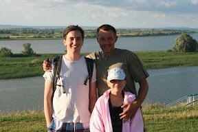 Naš domaćin Aleksej i njegova kćer