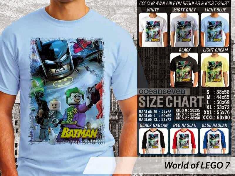 KAOS Lego Gambar Batman distro ocean seven