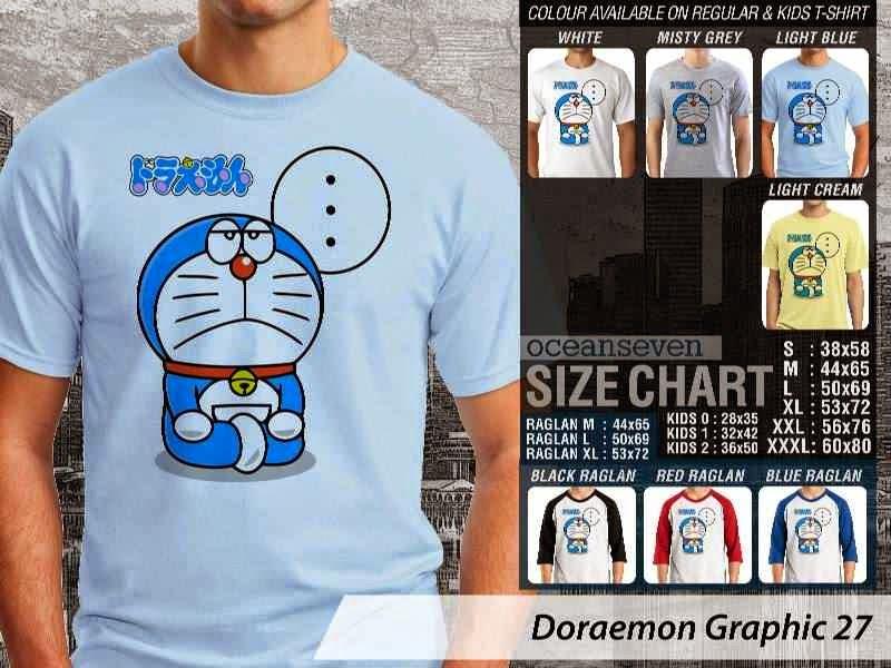 KAOS Doraemon 67 Manga Lucu distro ocean seven