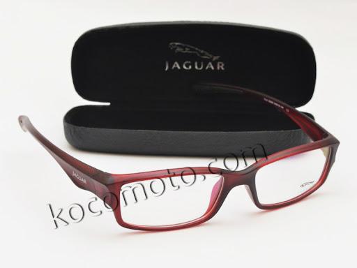Frame Kacamata Jaguar 36208 Dark Red : FJ-36208-DR