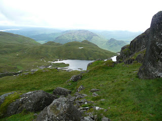 Looking back to Stickle Tarn