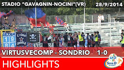 VirtusVecomp - Sondrio - Highlights del 28-09-2014