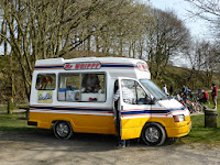 I did not have enough change for the Car Park so I had to buy an Ice Cream!!