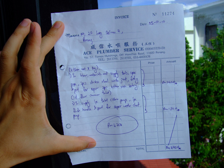 Doc650540 Plumbing Receipt Plumbing Invoice Template 84 – Plumbing Receipt
