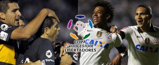 Boca Juniors vs. Corinthians en Vivo - Libertadores