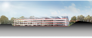 Desain Gedung perkantoran